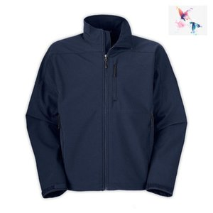 2018. OUdoor Polartec softshell norTh Jacket Homme MARQUE Homme Sports visage polaire manteau hommes apex navyblue