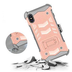 كومبو الحافظة حالة السرد لسامسونج J2 كور الكاتيل 1X Evlove حالة الهاتف + حزام كليب الحافظة مسنده TPU + PC 3 في 1 صدمات