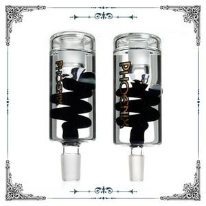Phoenix Glass Saulière Centrale Centrale Catcher Tuyaux d'eau Ashcapaers 14mm Homme 18mm Mâle Glan Fumeurs Bongs Accessoires Livraison Gratuite