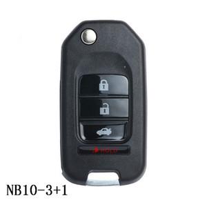 Serie KEYDIY NB NB10-3 + 1 Chiave remota multifunzione per KD300 e KD900 per produrre qualsiasi modello remoto con tasto di blocco