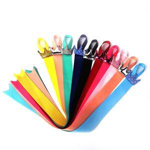 10pcs bebê crianças meninas coroa fita cabelo arco grampo de cabelo titular organizador de armazenamento bonito