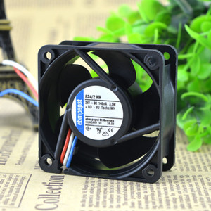 Per la Germania originale ebmpapst 6025 ventilatore inverter 624/2 HH 24V 3,5 W.