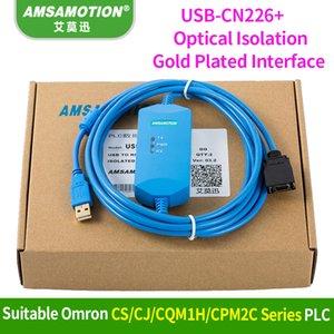 Suitable Omron CS CJ CQM1H CPM2C PLC programming Cable USB-CN226+ Data Download Line