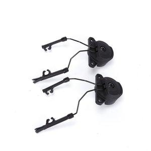 Tactical FMA Capacete Acessórios EX Tipo Headset Titular Fast Capacete Rail Adaptador Peltor MSA SORDIN EX Fone de Ouvido-Ops-Core Capacete Com Tripé