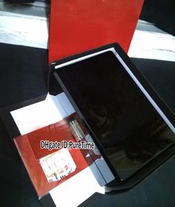 Hight qualidade barato PPBOX de madeira Watch Box Atacado das mulheres dos homens Relógios de papel Gift Card Certificado Box Original Com Sacos