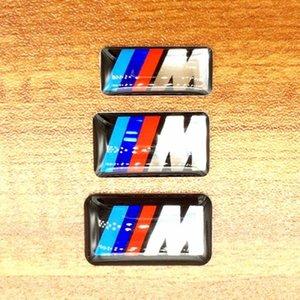 50 teile / los Auto M Sport Aufkleber Emblem Abzeichen Stick zu überall auf Ihrem Auto Hohe Qualität Großhandel