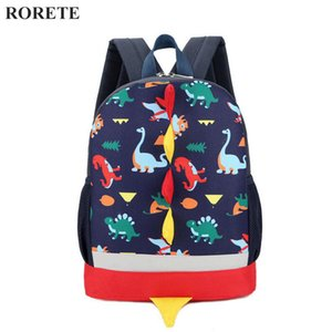 2017 Preppy Kids School Bag Dinosaur Backpack For Boys Children backpackindergarten Small SchoolBag Girls Cute animal rucksac