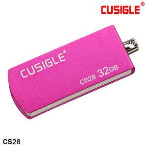 Die Metall Rotierenden Schlüsselanhänger 16 GB 32 GB 64 GB 128 GB USB-Stick 2.0 Für CUSIGLE CS28