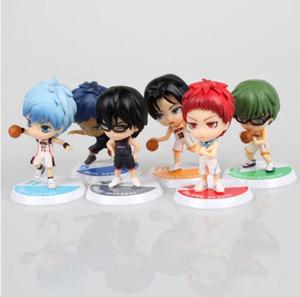 2 Stil 6 adet / takım Anime Kuroko Basketbol Kuroko hiçbir Basuke Baskı PVC Action Figure tetsuya Sepeti Koleksiyonu Model Oyuncak