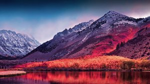 MacOS High Sierra Wall Art Silk Poster 20x30 24x36 24x43