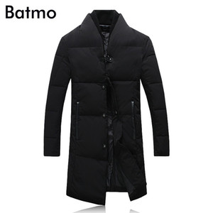 2017 new arrival winter high quality 95% white duck down Single Breasted business jacket men,plus-size M-5XL,Y17813