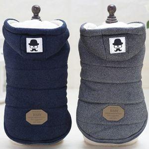 Ropa para perros Ropa de Navidad Ropa con capucha para mascotas ropa de lana traje lindo abrigo perro Mascota Ropa de invierno para perros ropa de abrigo PD043