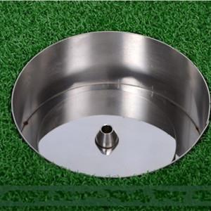 Profesional del agujero del golf taza de acero inoxidable 304 2 cm 4 cm Pie de imprenta con el indicador de los deportes del ocio de la venta caliente 35xs WW