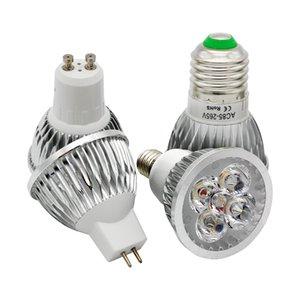 Dimmable 9w 12w 15w LED Spotlights E27 E14 GU10 AC85-265V MR16 AC DC 12V LED Light Bulb high power lamp white Warm white
