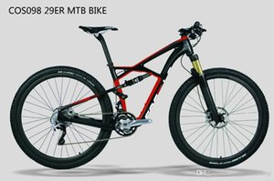 COS098 popüler ucuz çin tedarikçisi karbon fiber süspansiyon MTB dağ bisikleti bisiklet aksesuar parçaları çerçeve 29er ücretsiz kargo
