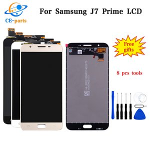 Display LCD per SAMSUNG Galaxy J7 Prime 2016 LCD Touch Screen G610 G610F G610M + luminosità Per SAMSUNG J7 Prime LCD