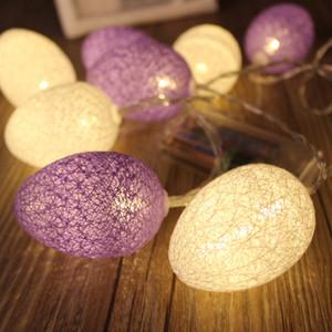 Páscoa LED Egg luz do quarto Decoração Lamp festa de Natal Cordas Decor Craft Gift chegam novas 20ys C