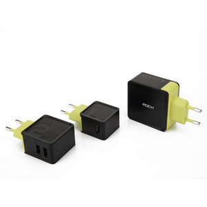 Sugar USB Wall Charger Travel Adapter 1 2 4 Port 5V 1A 2.4A 4A Fast Charging EU Plug Mobile Phone Chargers