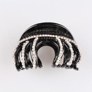 2018 Women 3PCS LOT European Fashion Acrylic Full Crystal Rhinestone Hair Claw Clip For feamail Accessories Hair Jewelry Headwear SYHC46