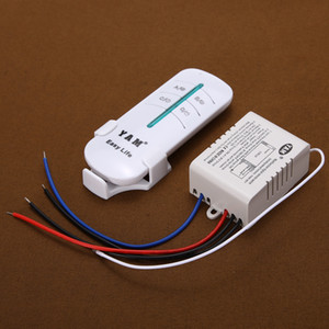 Wireless Remote Control Switch 1way ON OFF 220V Digital Distance Control Switch Receiver Transmitter for LED Lamp Light
