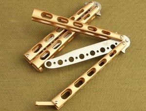 C33 практика не острый карманный складной нож бабочка нож литой стали кемпинг/ главная играть инструменты подарок Оптовая