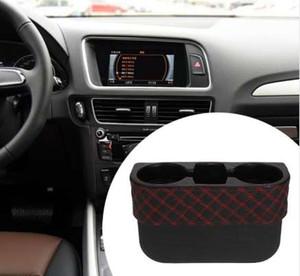 VODOOL Universal Car Auto Portavasos Portátil Vehículo Seat Cup Negro Auto Asiento de Coche Organizador Interior 2 Cup Soporte para Bebidas