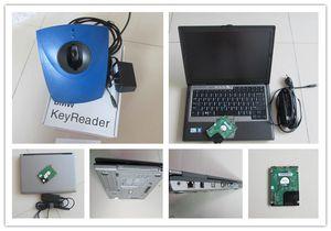 Key Programmer диагностические инструменты для чтения ключей bmw с ноутбуком компьютера d630 готов к работе лучшая цена