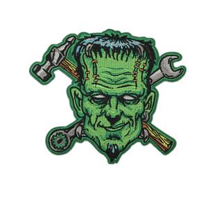 Patchs Brodés Monster Frankenstein Fer Sur Applique Pour Veste DIY