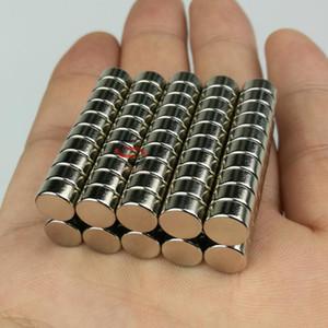 100PC ronde Mini aimant Neodymium J8 * 4 mm Bureau Réfrigérateur Artesanat bricolage aimant Craft en acier inoxydable aimant durable pour une utilisation prolongée