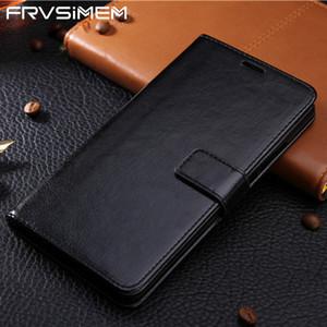 Leder-Telefon-Kasten für Samsung-Galaxie A3 A5 A7 J3 J5 J7 J5 J7 J2 Prime A8 A6 S9 Plus-Schlag-Mappen-Abdeckung