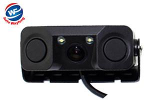 자동차 비디오 주차 카메라 센서 후면보기 카메라 2 센서 표시기 Bi Bi Bi Alarm Car Reverse Radar Assistance System