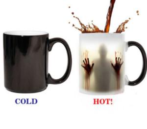 The Walking Dead tazza cambiante di colore sensibile al calore 11 once in ceramica tazza di caffè Sorpresa regalo