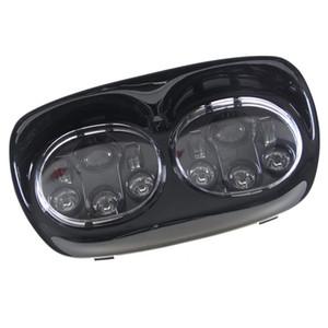 Yol Glide Aksesuarları için Adaptif LED Far Motosiklet Projektör Far Motorcyle Sürüş Aydınlatma Lambası
