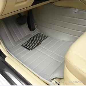 Tapis de sol sur mesure pour voiture Mercedes Benz W203 S203 CL203 W204 S204 C204 W205 S205 Classe C C180 C200 C300 revêtements de style