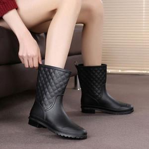 2018 bottes de pluie pluie italienne bottes de pluie en caoutchouc bottes de pluie galosh femmes bot bot