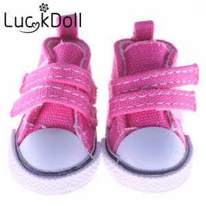 New arrivals 8 Colors 1 Pair Canvas Shoes For BJD Doll Toy Mini Doll Shoes for Sharon Doll Boots Dolls Accessories Hot Sale 5cm