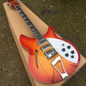 Grote продает 12 - струнные электрогитары в стиле Рикен, доски из красного дерева, белые кирки и 3-скоростные пикапы