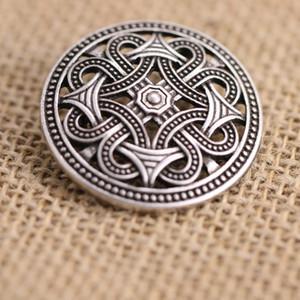 10pcs nordischen Wikinger Amulett Schweden Fibel Set Broschen Viking Brosch Schmuck Talisman