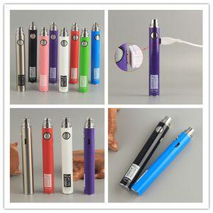 E Cigarette eVod Vaporizer Pass Through Electric Pen Vapor UGO V II 510 Thread Battery + Micro USB Cable eGo Charger Vapes