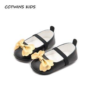 CCTWINS ENFANTS 2018 Printemps En Cuir Véritable Mary Jane Bébé Fille Buerfly Parti Chaussure Enfants Mode Premier Walker FW016