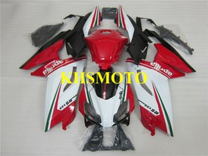 Kit de carenado de molde de inyección para Aprilia RS125 06 07 08 09 10 11 RS 125 2006 2011 ABS Rojo Blanco Carenados set AA07