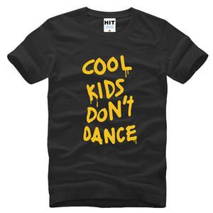 Maglietta da uomo One Direction 1D T Shirt Uomo Moda cotone manica corta Rock Music T-shirt Cool Kids Do not Dance Music Tee Shirts