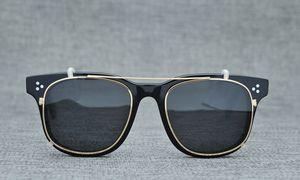 NEWHotsale Марка качества OV5236 CLIP-ON Plank поляризованных солнцезащитные очки + рецептурных очки кадра наборы солнцезащитных очков 49-22-145full посаженных футляры