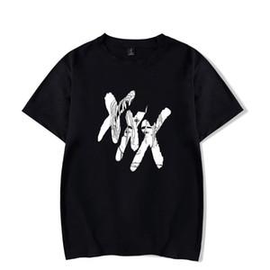 XXXTENTACION Printed Casual Mens Womens Designer T-shirts Sommer Männlich Weiblich Rundhalsausschnitt Kurzarm Tops Rache T-stücke