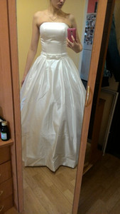 Una línea de vestidos de novia 2018 Vintage bolsillos arco China Vestidos De Novia Backless más tamaño botón Novia vestidos de novia