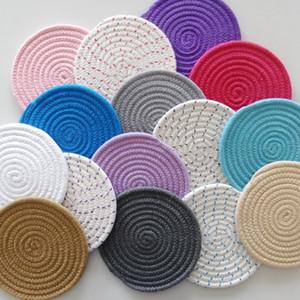 3 Teile / los Cool Tool Oberflächenschutz Untersetzer wärmeisolierende Matte Topf Pad Tasse Matten Runde Untersetzer wärmeisolierende Platte