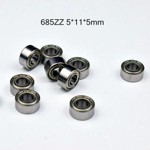 685ZZ ABEC-5 rulmanlar 10pcs metal Minyatür Mini Mühürlü 685 685Z 685ZZ 5 * 11 * 5mm krom çelik rulman Rulman
