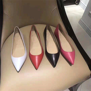 2018 new Women Black Sheepskin Nude Patent Leather Poined Toe Women Pumps, Fashion lRed Bottom High Heels Shoes for Women Wedding shoes