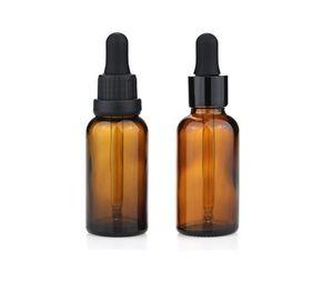 작은 투명 유리 5ml 10ml e-liquid dropper 병 1/4 DRAM 미니 앰버 향수 샘플 에센셜 오일 전자 주스 병 A668