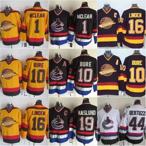 10 Pavel Bure Vancouver Canucks Forması 1 Kirk Mclean 16 Trevor Linden 19 Markus Naslund 44 Todd Bertuzzi Hokeyi Formaları Ucuz